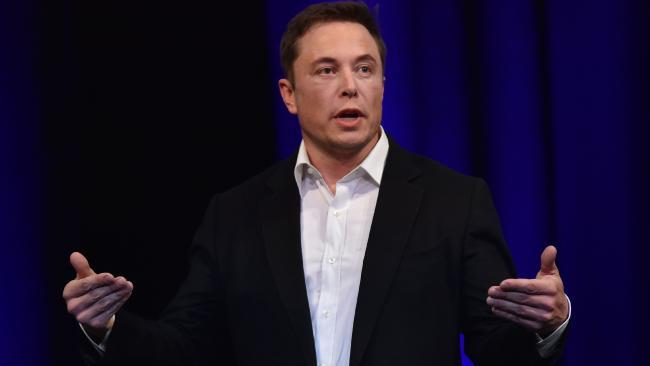 Tesla boss Elon Musk. Picture: AFP PHOTO / PETER PARKS.