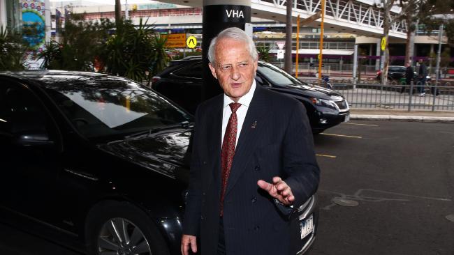 Former federal Attorney-General Phillip Ruddock.