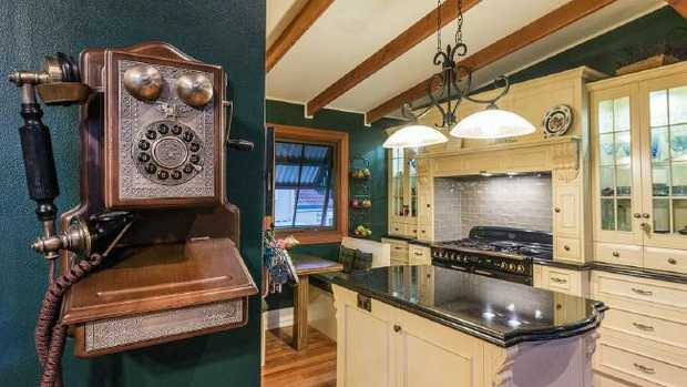 No expense was spared on this dream kitchen at 70 Malaga St, McDowall.