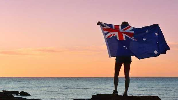 Parts of southeast Queensland could be in for rain on Australia Day.