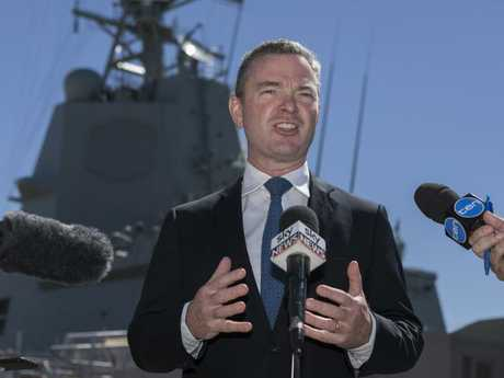 Defence Industry Minister Christopher Pyne will make the announcement in Brisbane today.