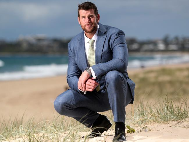 Ben Roberts-Smith VC, pictured on the Sunshine Coast, has thrown his weight behind the Queensland-based tender. Picture: Peter Wallis