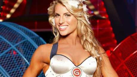 Tiff Hall was Angel on Gladiators.