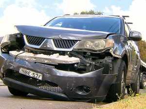 Salim arrested following car crash