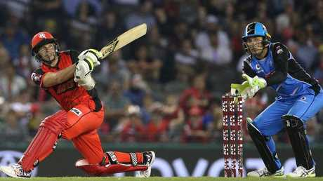 Brad Hodge will captain the Renegades against the Thunder. Picture: AAP