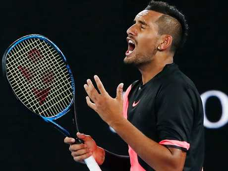 Nick Kyrgios is still searching an elusive grand slam title.