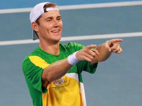 Matt Ebden has been left out of Australia's five-man squad. Picture: Darren England