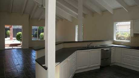 When he bought it, the bungalow was looking a little run-down. Picture: Supplied