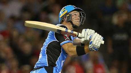 Colin Ingram will lead the Strikers. Picture: AAP Image/Hamish Blair