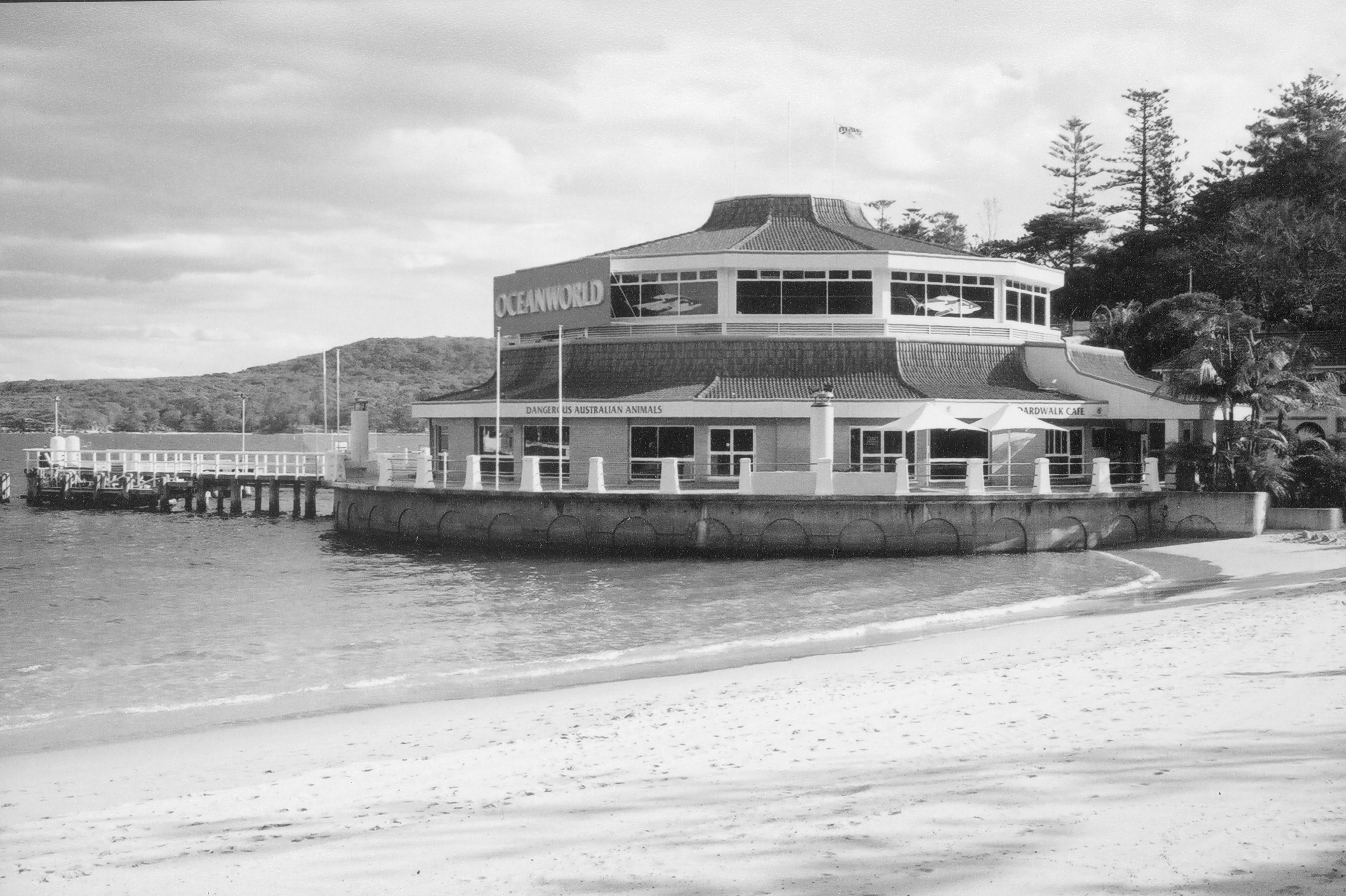 It went by many names - Oceanarium, Marineland, Oceanworld, Sea Life - but it remained an iconic building within the famous Sydney beachside suburb of Manly.