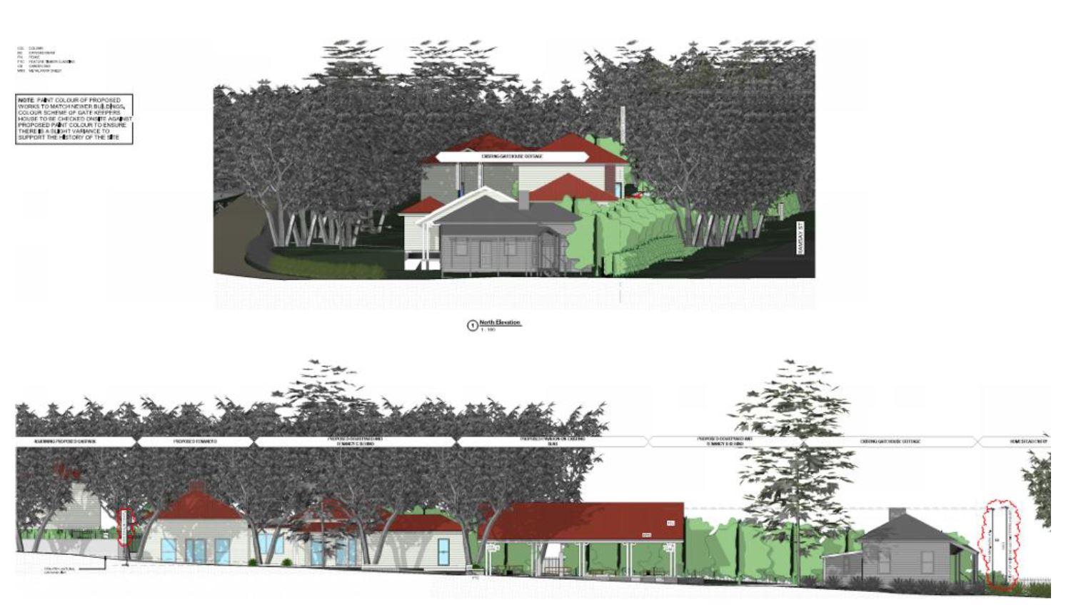 Concept designs for Gabbinbar Village