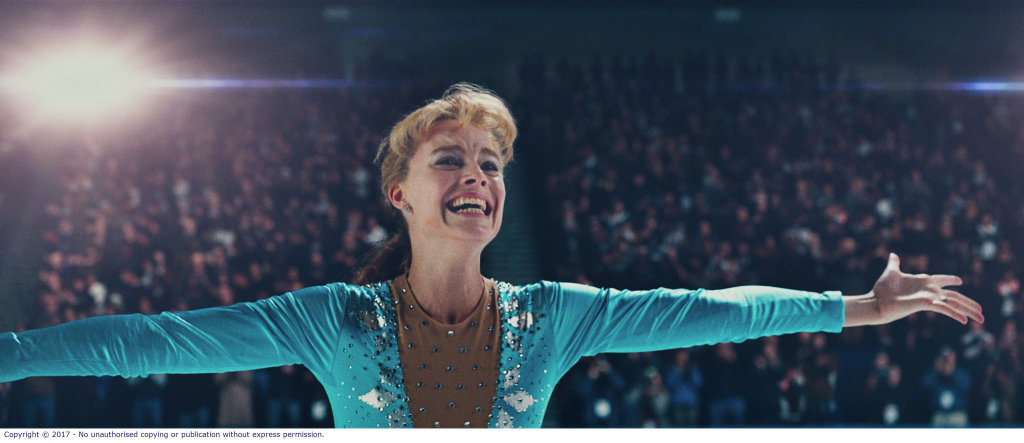 Margot Robbie in a scene from the movie I, Tonya. Supplied by Roadshow Films.