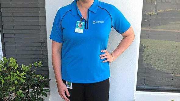 FULL CIRCLE: USC honours graduate Lauren Pratt has returned to Bundaberg to work as an occupational therapist.