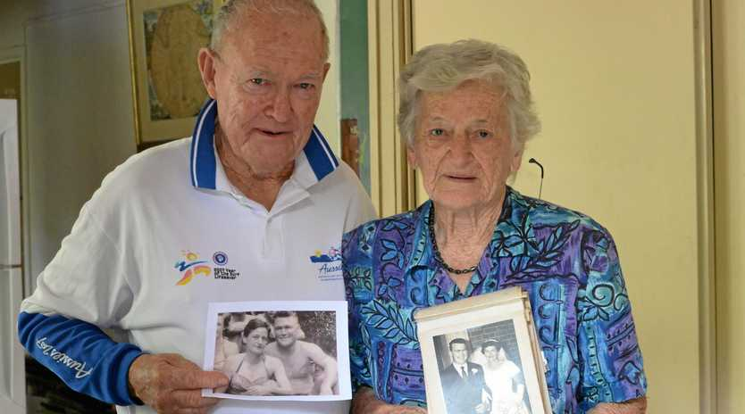 Reg and Helen (nee Laws) Butler celebrated their 60th wedding anniversary on January 18.