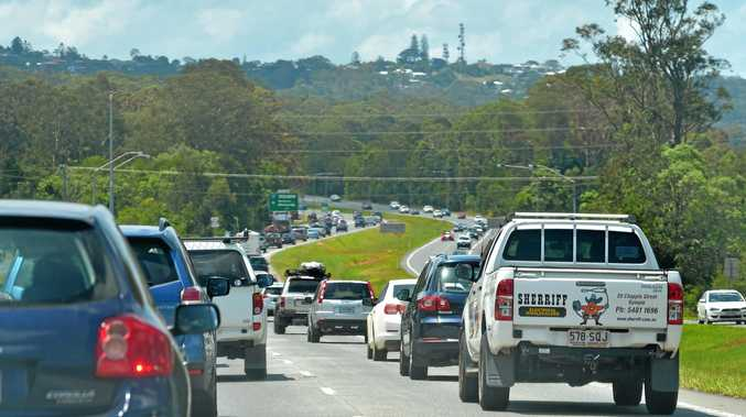 TRAINS TO FIX THE HIGHWAY: Visit Sunshine Coast chief executive Simon Latchford (inset) says a fast train would help take pressure off the Bruce Highway, making the region more accessible to tourists.