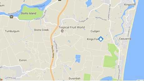 A fire is still burning at Kings Forest on the Tweed Coast.