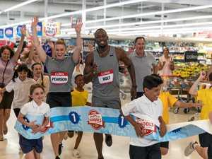 Champion athletes encourage Coast schools to get active