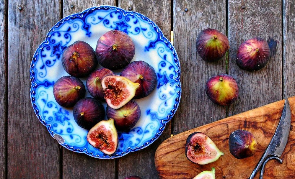 HARVEST TIME: Freshly picked figs bursting with colour and flavour.