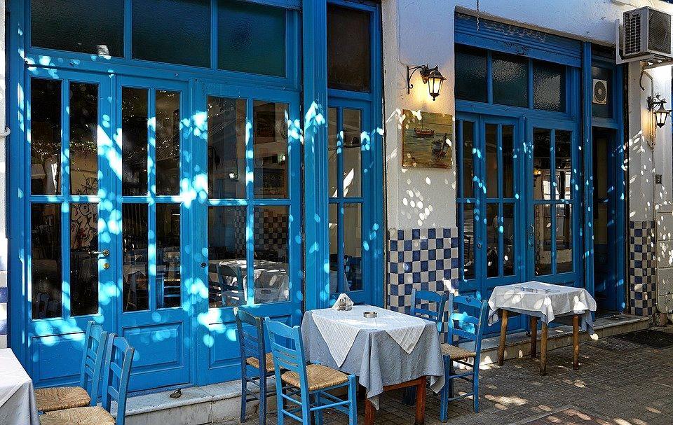 Greek restaurant.