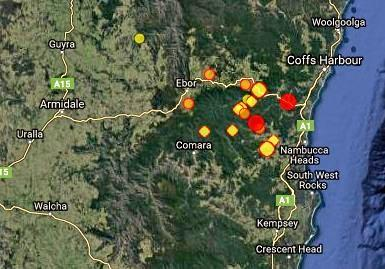 SHAKY GROUND: Multiple earthquakes have been recorded in Bellingen and Dorrigo in the past few days.