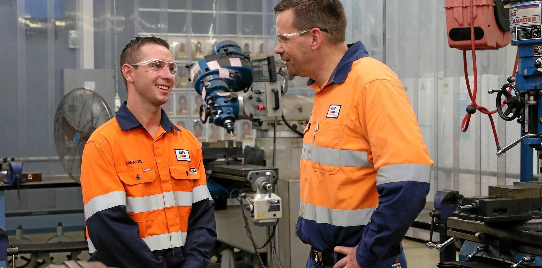 Huge new apprentice intake starts at CQ mines | Morning Bulletin
