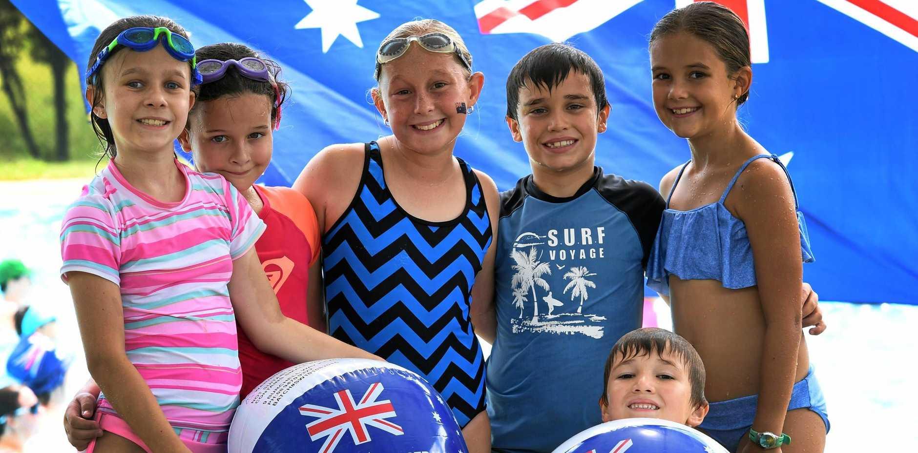 AUSTRALIAN: An Australia Day Aqua Aerobics Fundraiser will be held by DNA Aqua Aerobics at Kepnock State High School pool from 9am.