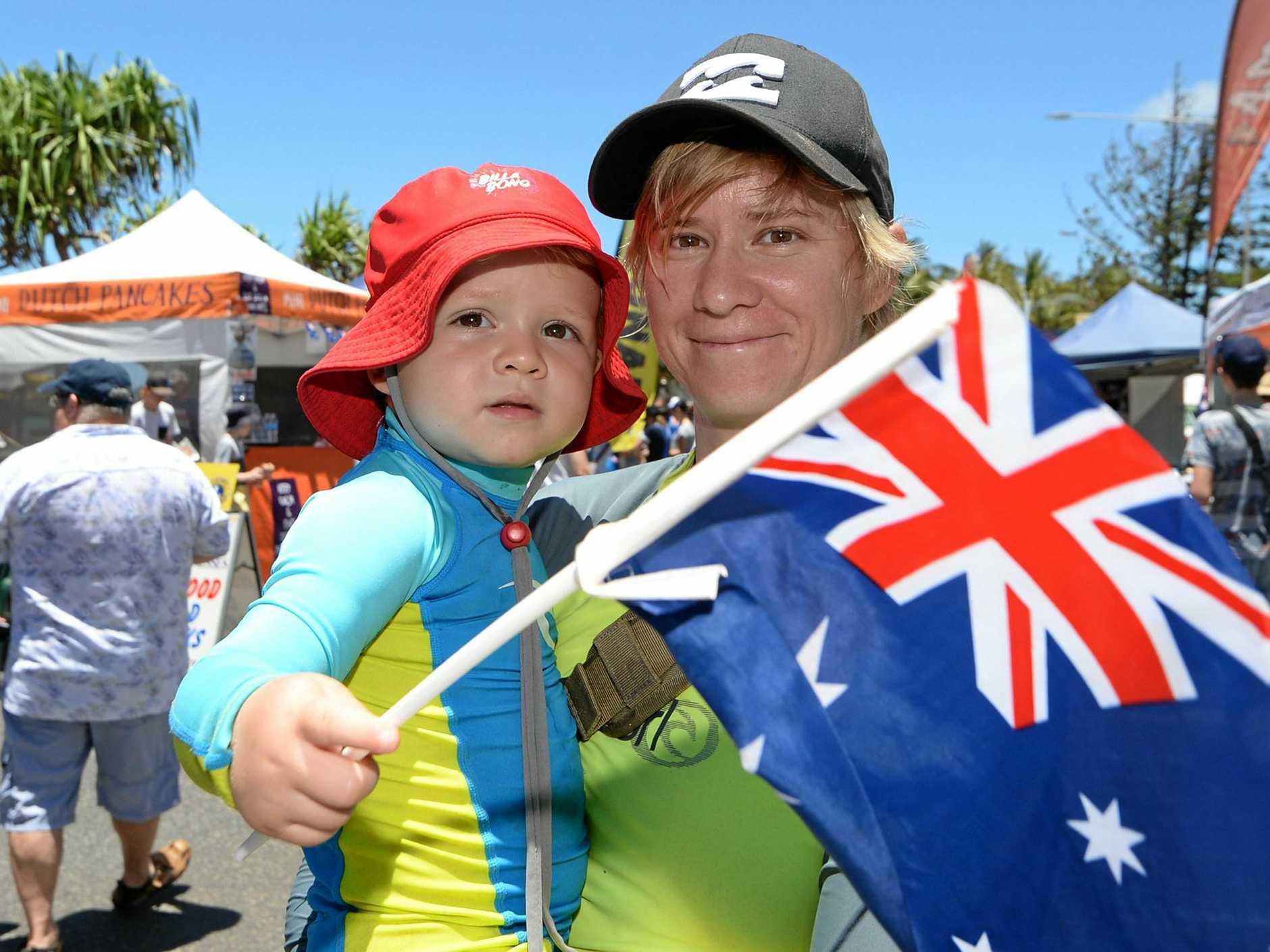 Celebrate Australia Day.