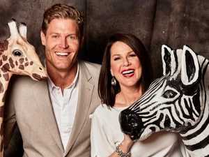Chris Brown and Julia Morris are the host of Ten's major new show, I'm a Celebrity Get Me Out Of Here. (Pic: Ten)