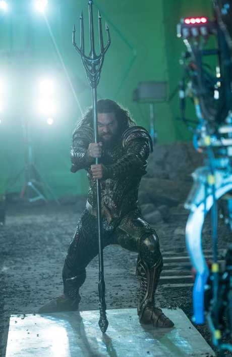 Momoa as Aquaman. Credit: Clay Enos/ TM & © DC Comics