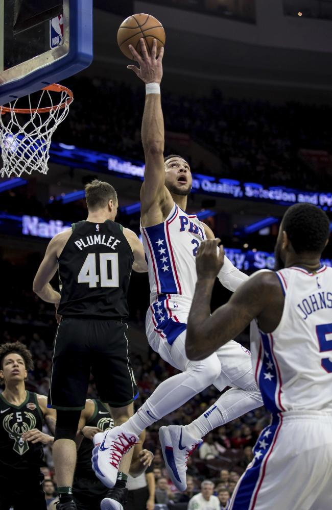 Ben Simmons didn't do enough. (AP Photo/Chris Szagola)