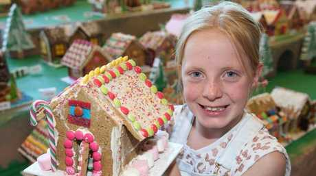 Gingerbread houses are a great cooking project for children to explore creativity, and design. Picture: Peter Ristevski