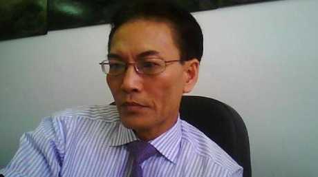 Lawyer Ho Ledinh was having a coffee when he was shot dead.