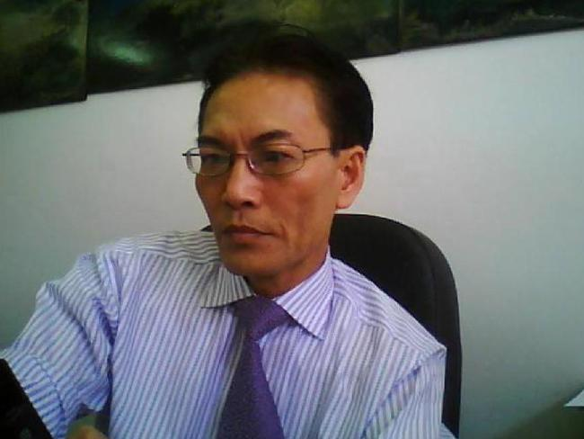 Lawyer Ho Ledinh was having a coffee when he was shot dead.