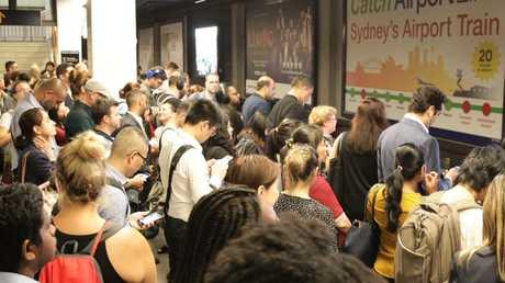 Commuters are dreading a repeat of the recent rail shutdown. Picture: Christian Gilles