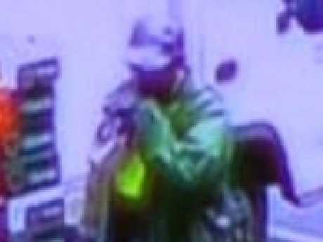 CCTV of the suspected killer in Old Centre Plaza. Picture: Supplied