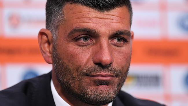 Aloisi has already he said he won't quit. (AAP Image/Albert Perez)