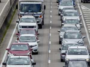 COMMUTER CHAOS: 15km snarl after four highway lanes closed