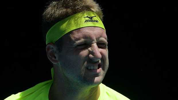 Tennys Sandgren has been forced to answer questions about his political views.