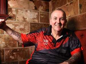 Former world champ Phil Taylor's powering down