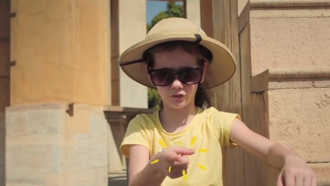 Keira Lucas stars in Scoot's latest ad.
