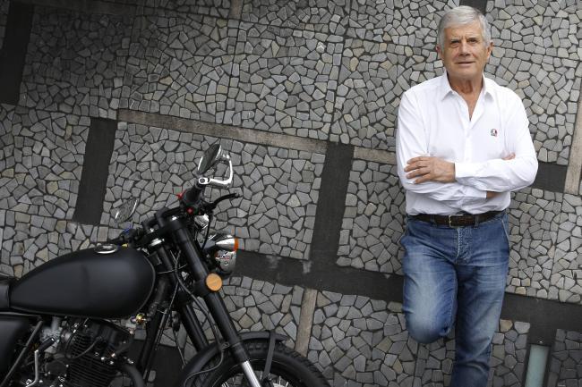 Giacomo Agostini. Pic: David Caird
