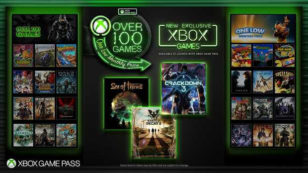 Xbox Game Pass now gives access to Xbox exclusives on launch day
