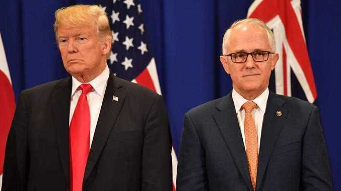 United States President Donald Trump and Australian Prime Minister Malcolm Turnbull set to hold talks
