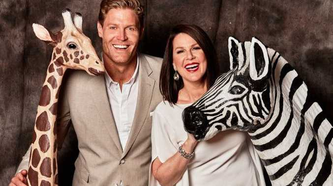 Chris Brown and Julia Morris host the TV series I'm A Celebrity... Get Me Out of Here!