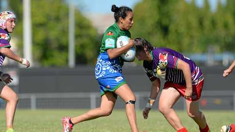 The Highlanders' Terissa Anderson in last year's final.