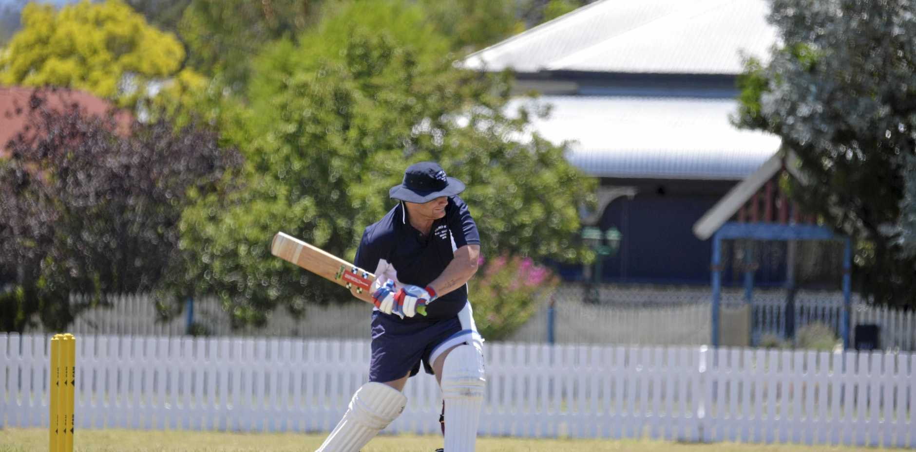 Josh Rutledge in action for Bears/Small's XI.