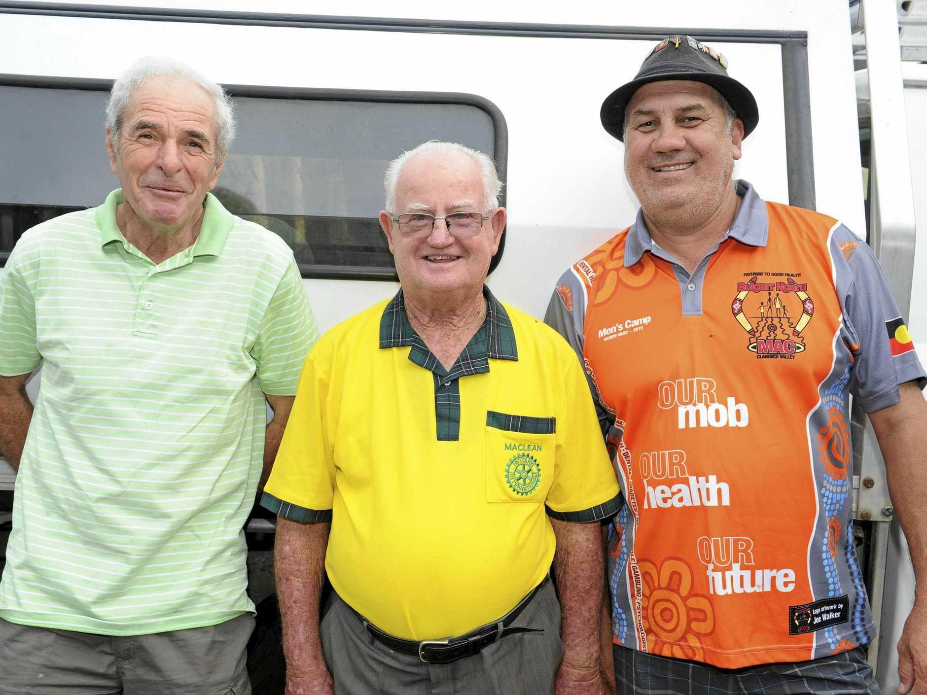 Trevor Kapeen (far right)