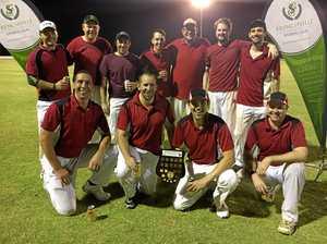 The Bangarangs celebrate maiden T20 title win