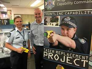 Gladstone first region to receive fleet of new and improved tasers