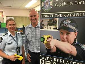New tasers for Gladstone Police